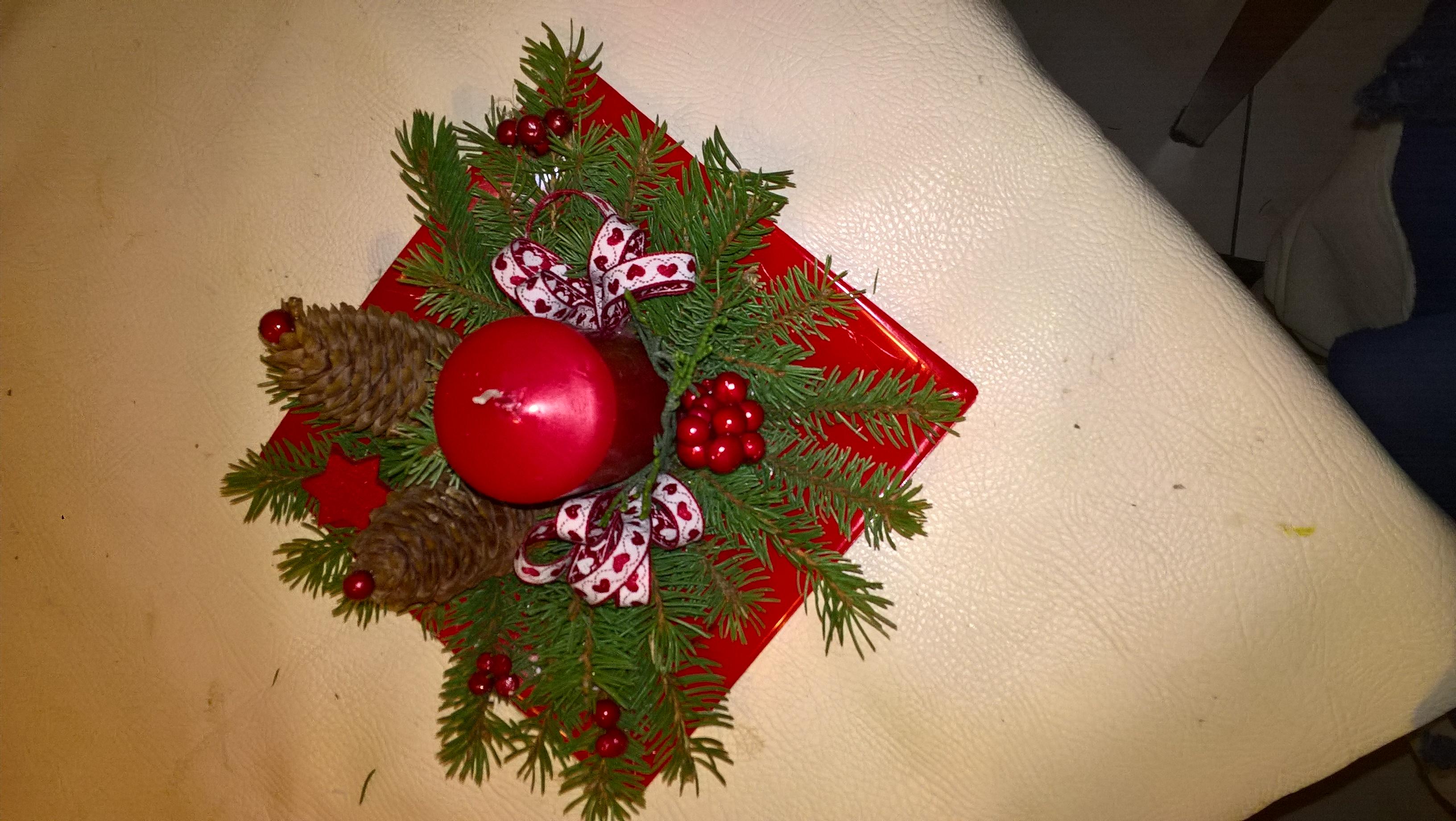 Centrotavola X Natale Fai Da Te.Fai Da Te Un Centrotavola Per Il Pranzo Di Natale Le Amiche Di Luciana
