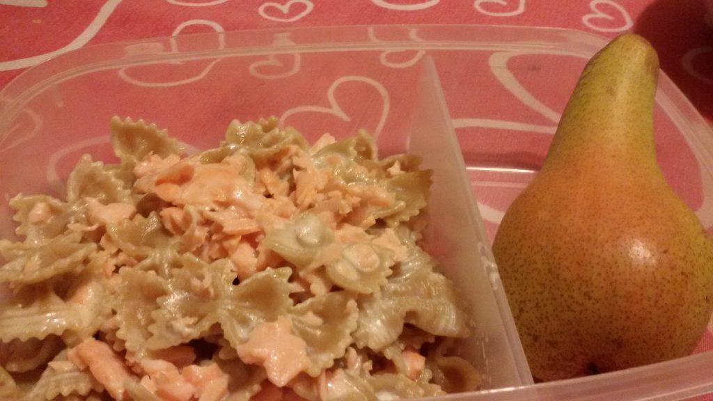 pasto da casa mercoledì pasta al salmone