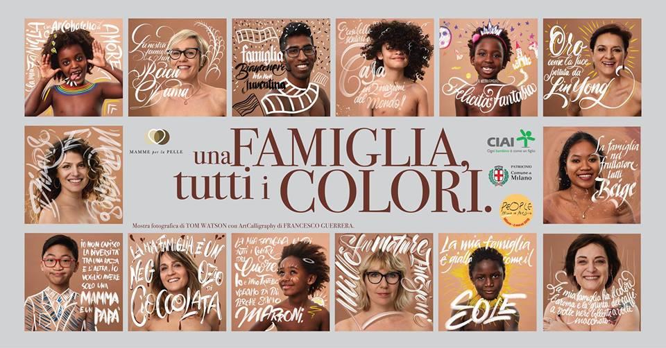 mamme per la pelle una famiglia di tutti i colori