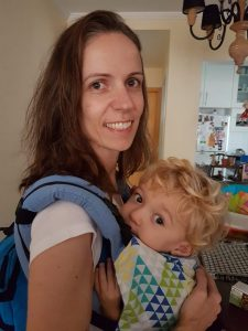 Ana Ligia e Francisco - babywearing