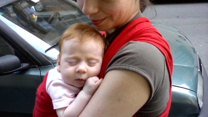 Babywearing 1