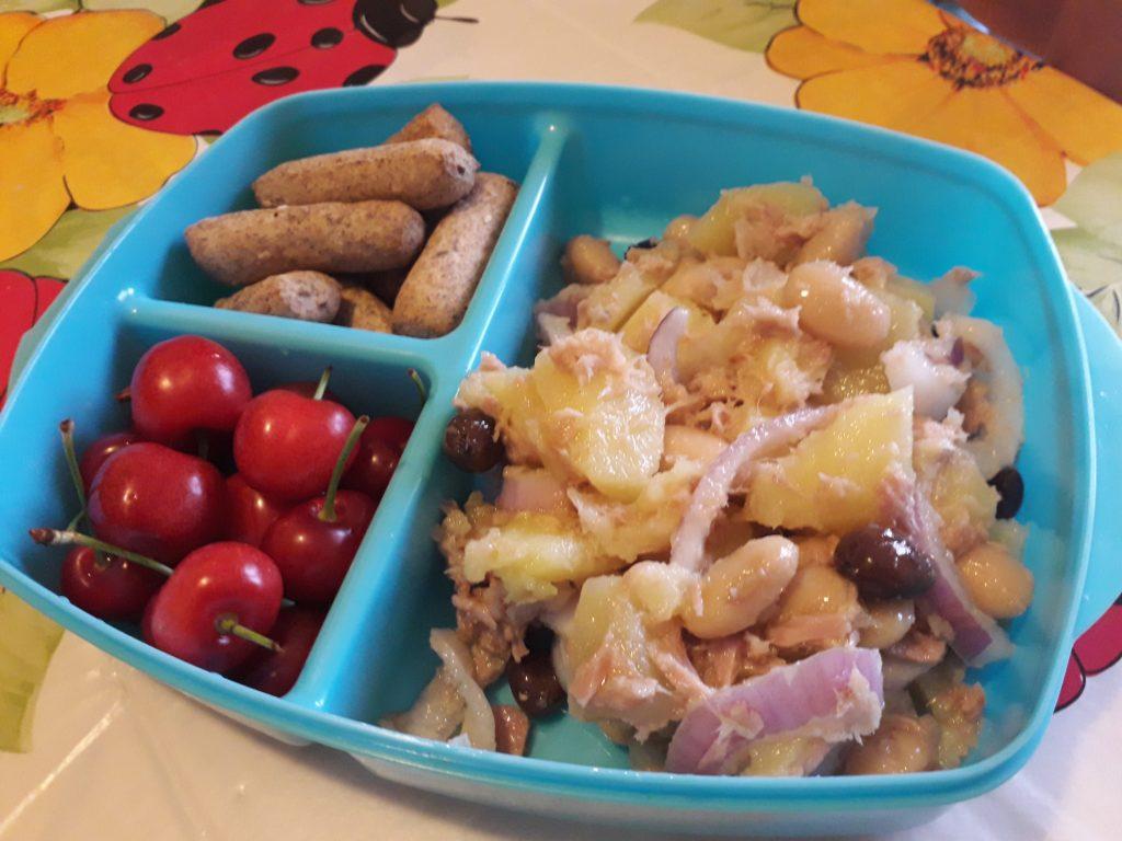 patate cipolle tonno e olive
