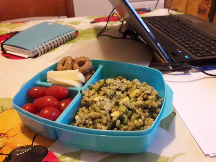 Pausa pranzo in ufficio? Ecco il mio menù estivo