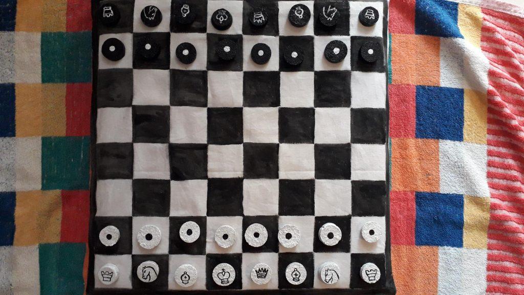 dama o scacchi homemade3