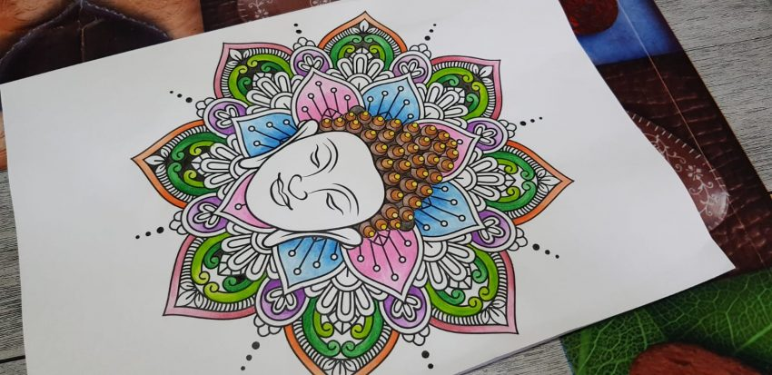 Colorare come terapia per l'anima