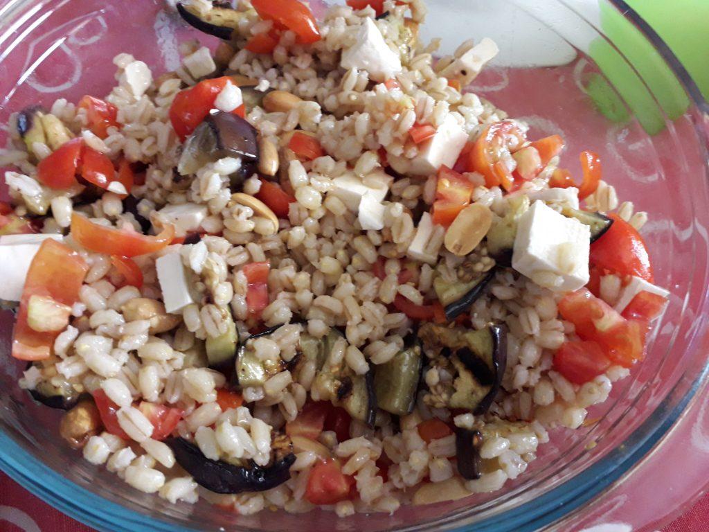 orzo in insalata