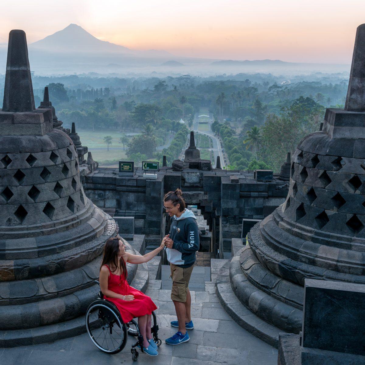 Giulia Lamarca: l'amore e il bisogno di viaggiare per abbattere ogni barriera