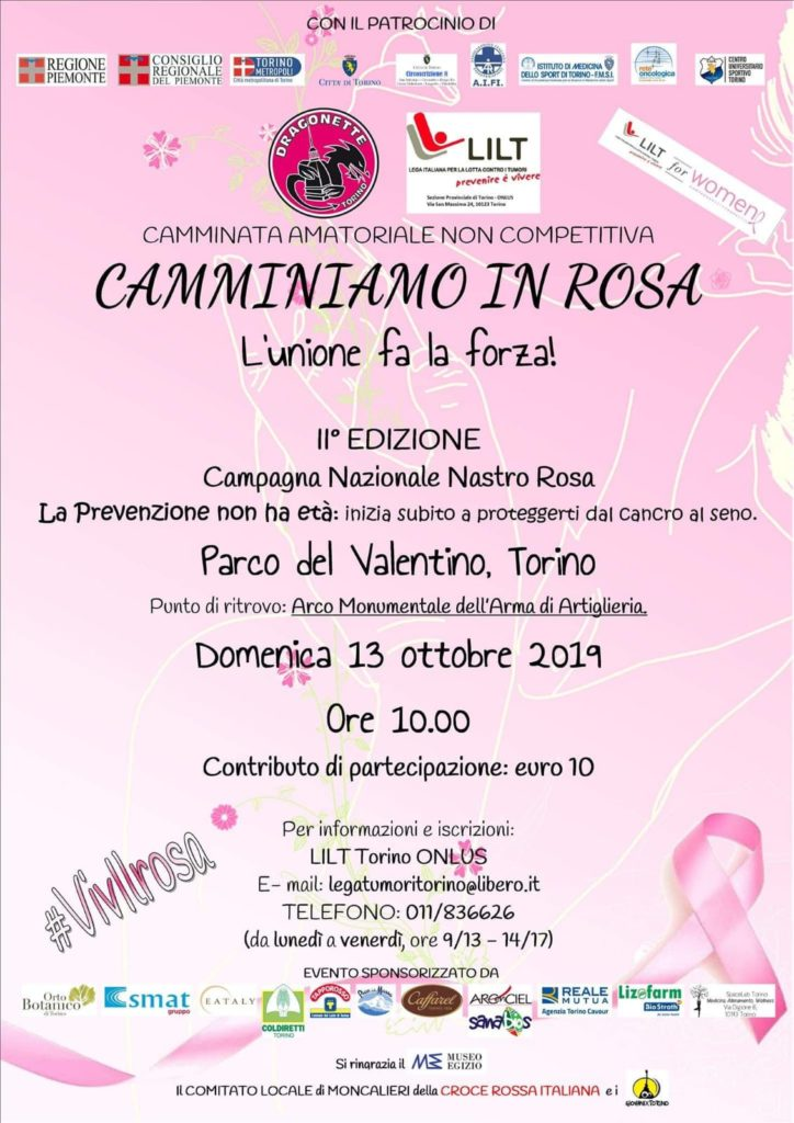 Camminata in rosa