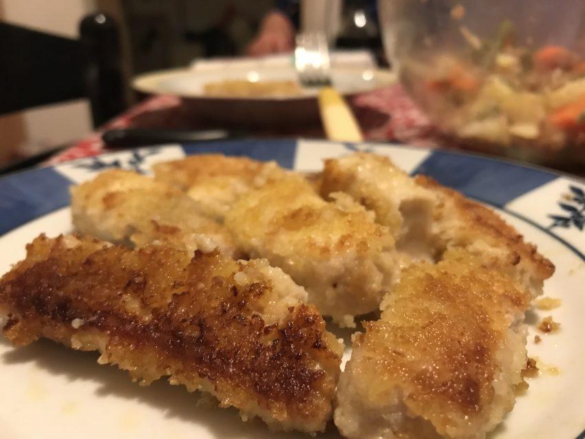 Nuggets di pesce spada per palati piccini e pregiati